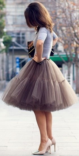Tutu street fashion ♥✤ | Keep the Glamour | BeStayBeautiful
