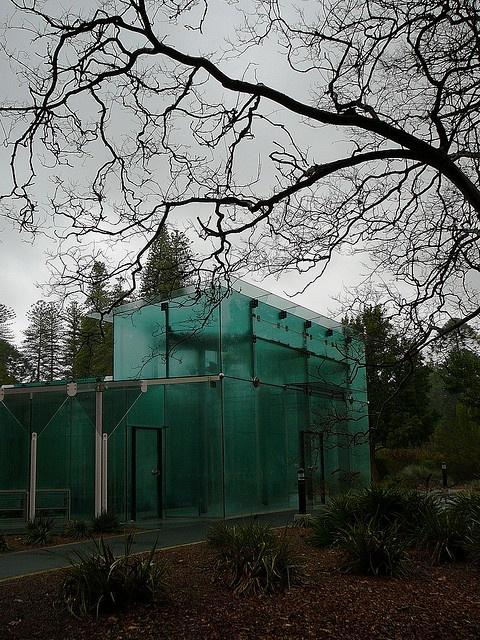 Amazon Waterlily Pavilion - Adelaide Botanical Gardens