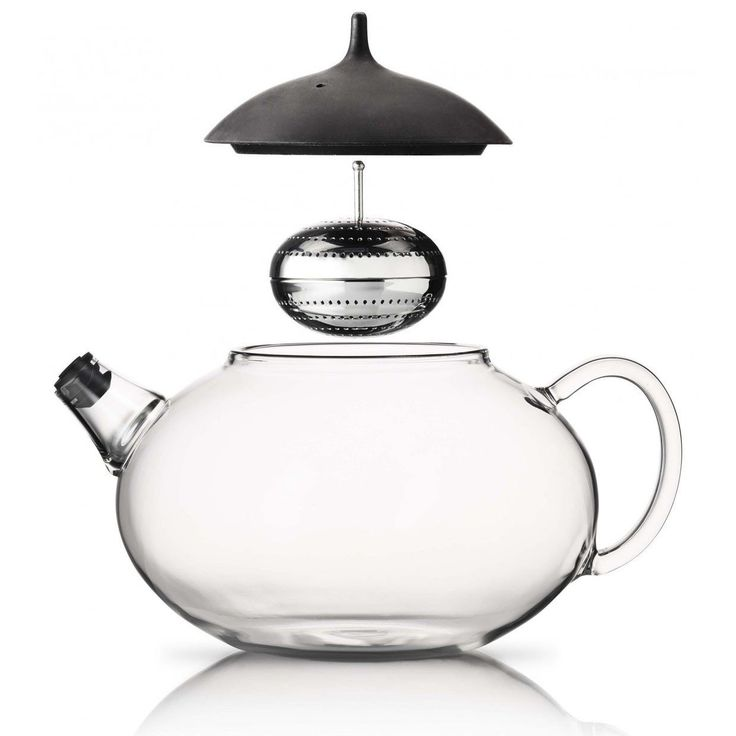Amazon.com: Glass Teapot with Built in Tea Egg By Eva Solo Denmark: Kitchen & Dining