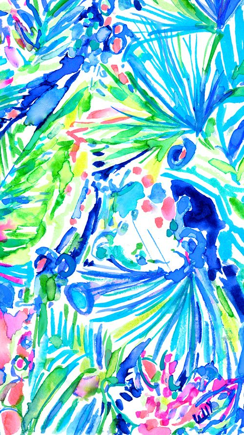 25 best ideas about lilly pulitzer iphone wallpaper on