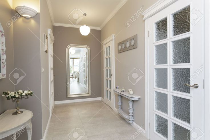 18969407-Tuscany-grey-hallway-with-huge-mirror-Stock-Photo-hallway-room.jpg (1300×866)