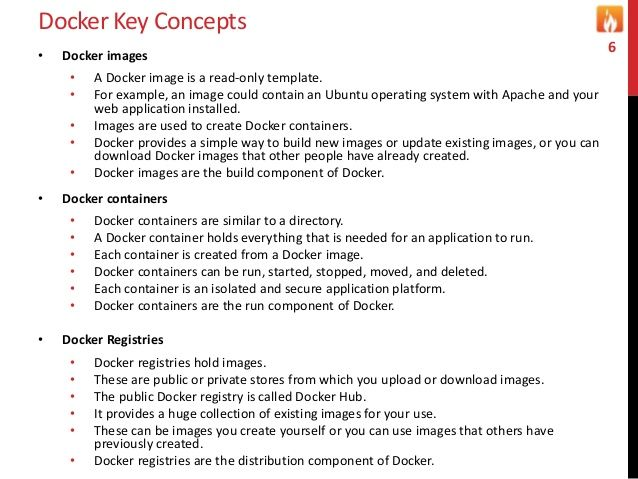Docker Key Concepts