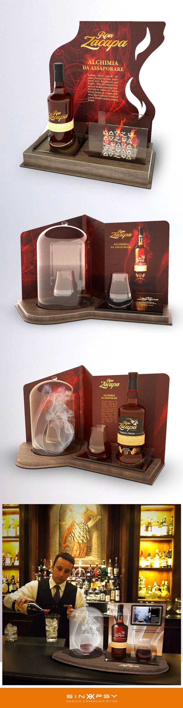 Zacapa Bottle Glorifier project