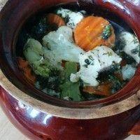 Запеченное куриное филе с овощами в духовке