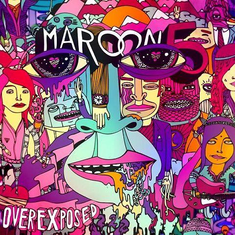 One More Night & Lucky Strike (:: Music, Album Covers, Overexpo, Adam Levine, Comic Books, Songs, Maroon5, Wiz Khalifa, Maroon 5