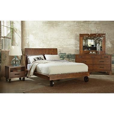 Industrial bedroom set in the bedroom pinterest - Industrial bedroom furniture sets ...