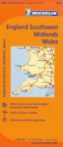 Wales/West Country/Midlands (Maps/Regional (Michelin)) by Michelin Travel & Lifestyle. Save 20 Off!. $9.56. Series - Maps/Regional (Michelin) (Book 503). Publication: January 1, 2012. Publisher: Michelin Editions des voyages (Firm), Michelin Maps and Guides (Firm); 10th Edition edition (January 1, 2012)