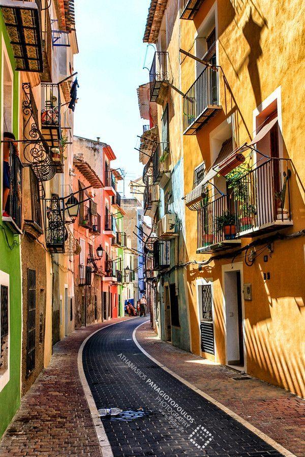 Villanueva, between Alicante and Benidorm, Spain. #isadoreapparel #roadisthewayoflife #cyclingmemories