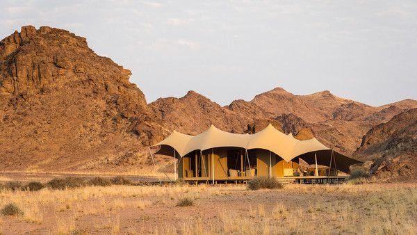 The Hoanib camp, Namibia
