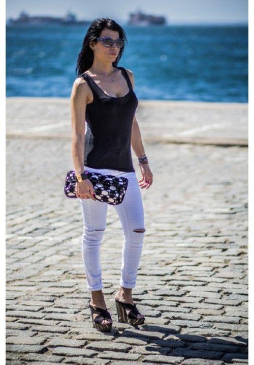 """""""Violet"""" Clutch Bag. Fun in the Sun #summer!"""