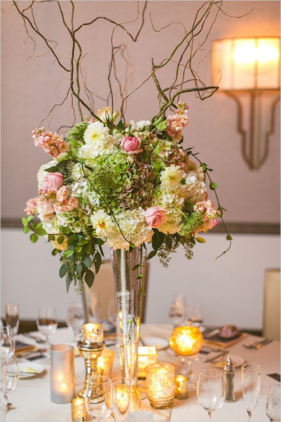 Elegant tall wedding centerpiece ideas centerpieces for