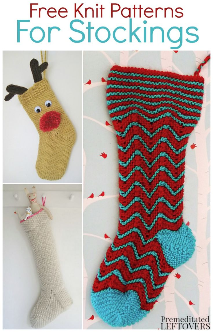 Knitting Pattern For A Small Christmas Stocking : 14 best images about Christmas stockings on Pinterest ...