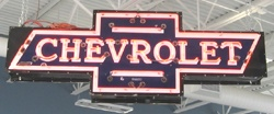 1948 Chevrolet Dealership sign