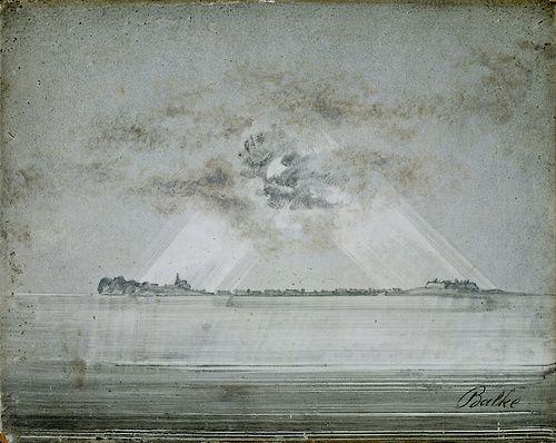 Peder Balke, Vardøhus Fortress (1870)