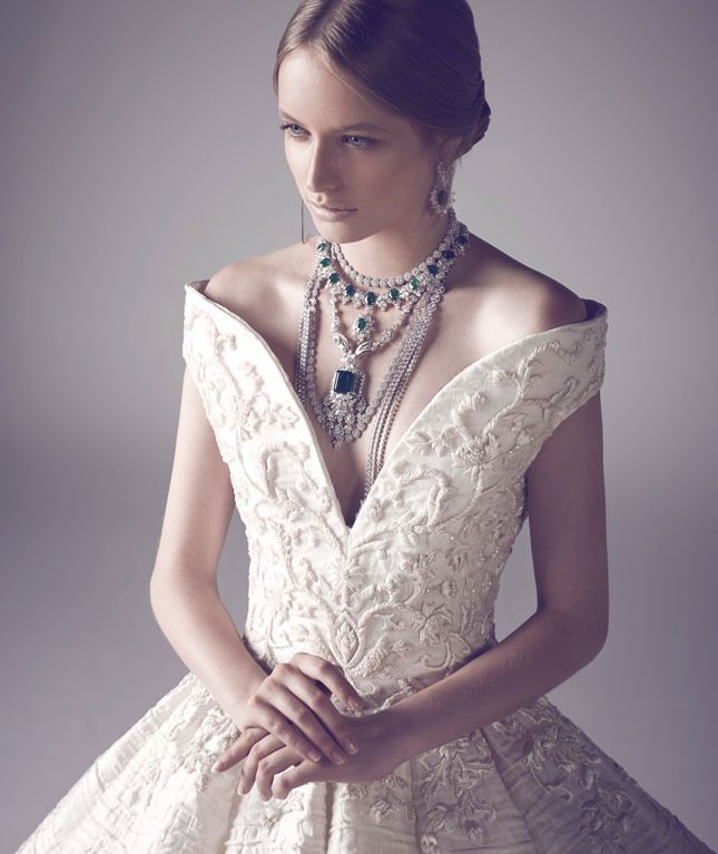 For the bride with a fantasy: Ashi Studio Couture
