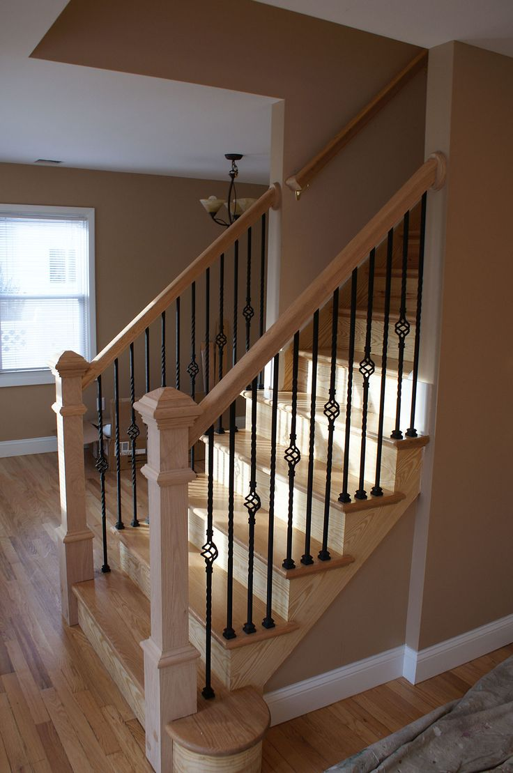 Best 25 indoor stair railing ideas on pinterest - How to install interior stair railings ...
