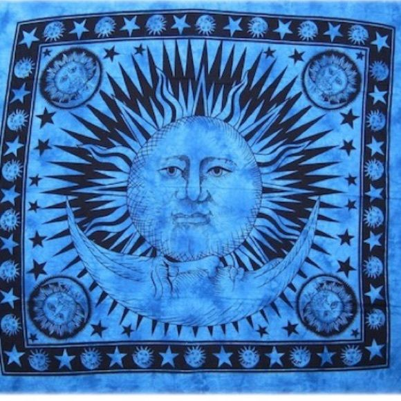 1000+ ideas about Sun And Moon Tapestry on Pinterest ...