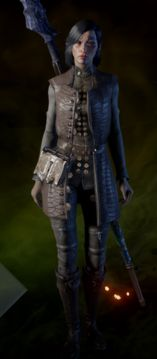 Apprentice Coat - Samara's beginning coat with the Brotherhood without Banners