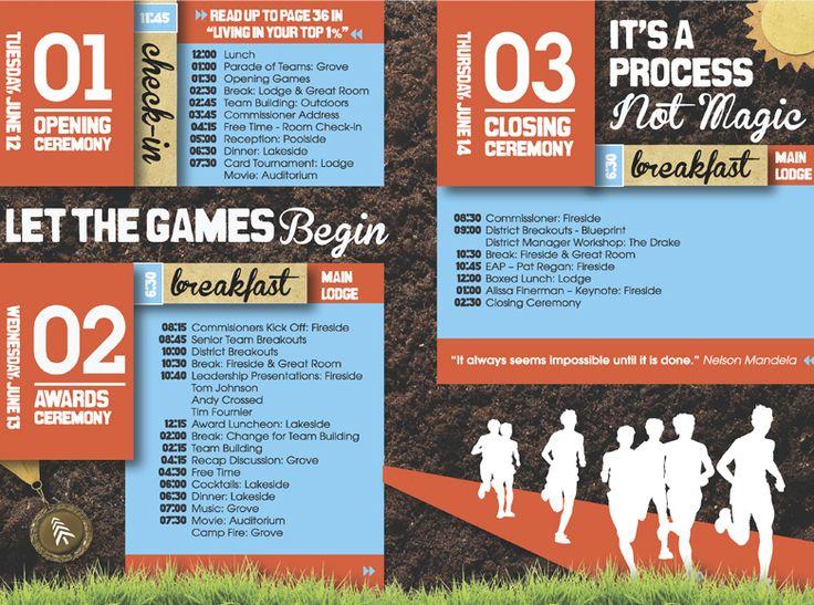 inscape designs graphic design conference agenda design 2012 – Conference Agenda