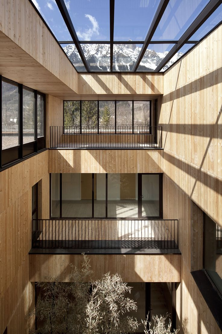 Image 1 of 31 from gallery of Fire Station in Chamonix-Mont Blanc Valley / Studio Gardoni Architectures. Photograph by Jerome Ricolleau