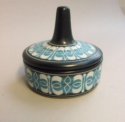 Lidded box Ambleside Pottery