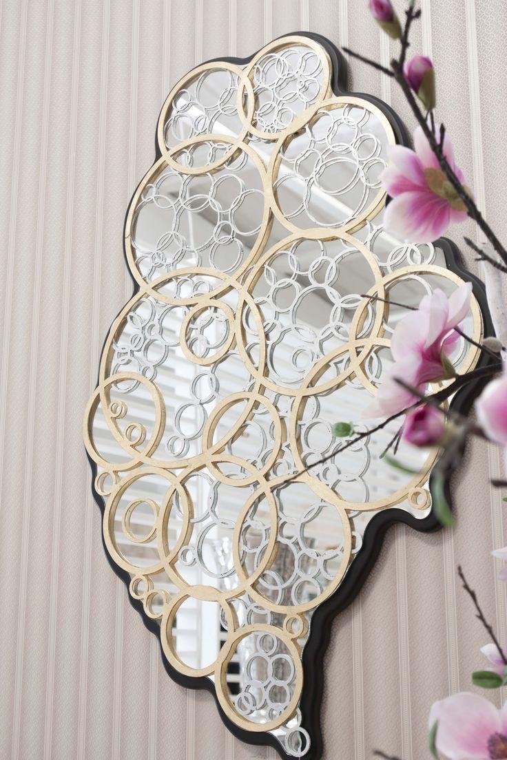 Heart Mirror #RealClassic #GreenApple #GAhomestyle #homestyle #Decoration #gold #Mirror #vianasheart #heart
