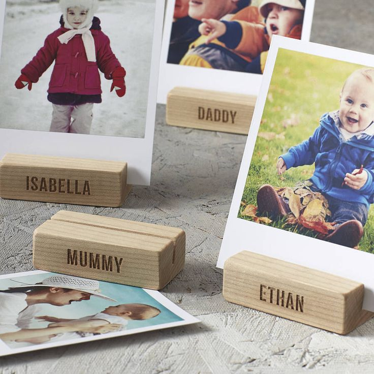 Personalised Family Tree Wooden Photo Blocks by SophiaVictoriaJoy on Etsy https://www.etsy.com/listing/183217246/personalised-family-tree-wooden-photo