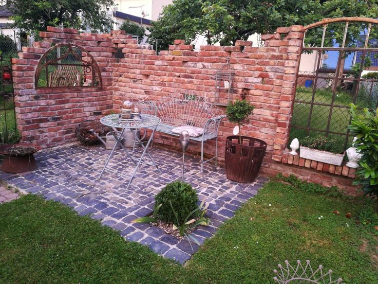 185 best Mauer images on Pinterest Garden walls, Decks and Brick - ruinenmauer im garten
