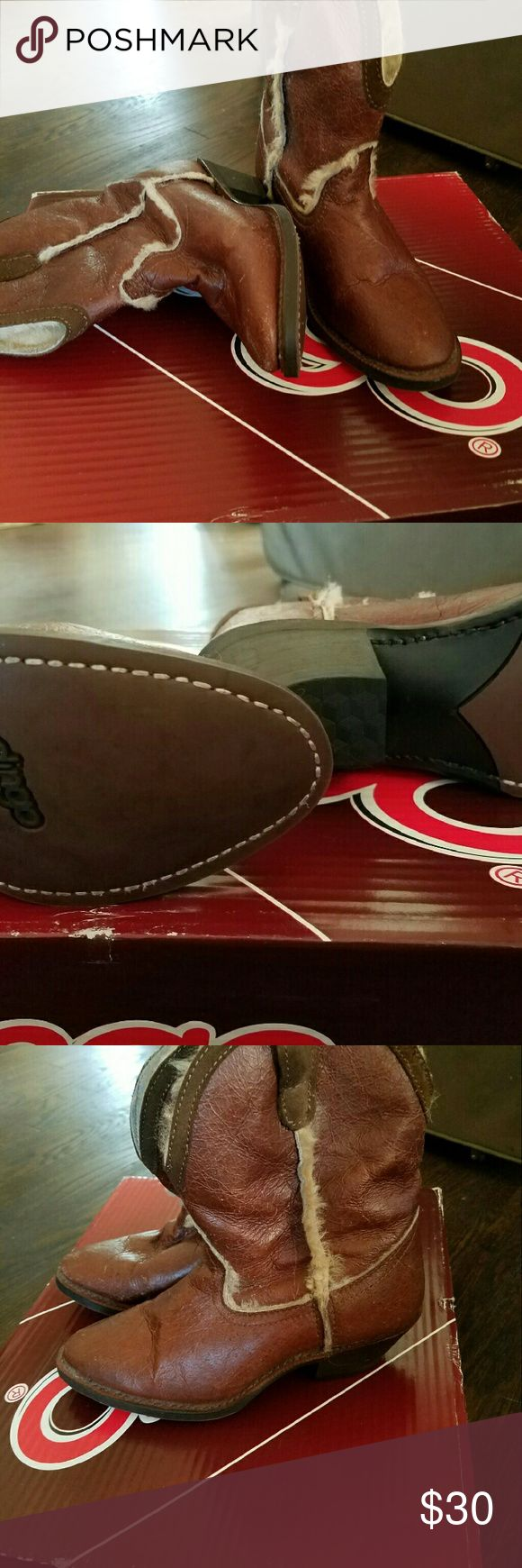Fleece lined dingo boots New with box dingo Shoes Ankle Boots & Booties