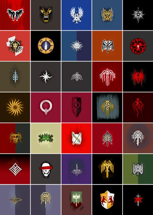 Dragon Age Heraldry | The World of Thedas | Pinterest