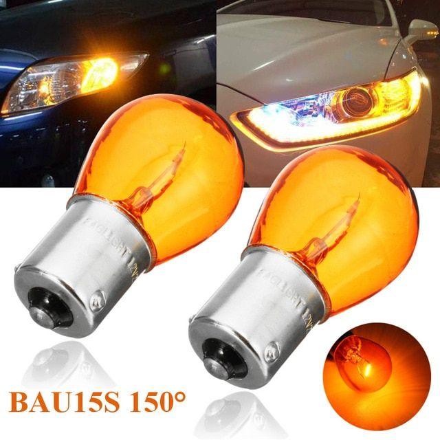 2 10pcs 1156 Bau15s Py21w Car Indicator Light Brake Reverse Lamp
