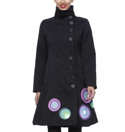 Acheter Neuf: EUR 134,00: Vêtements: Desigual Abril - Manteau - À Épaulettes - Coton - Femme