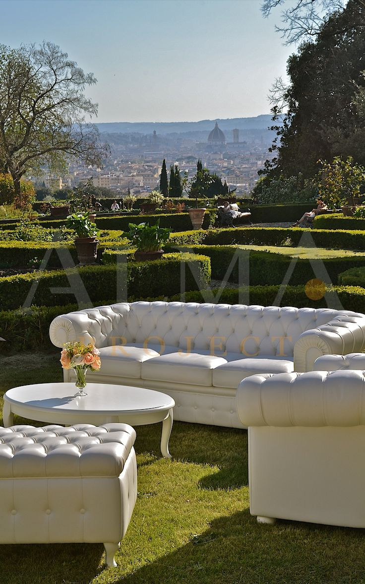 ALMA Project @ Villa il Garofalo - Chesterfield sofa, garden, duomo brunelleschi 12