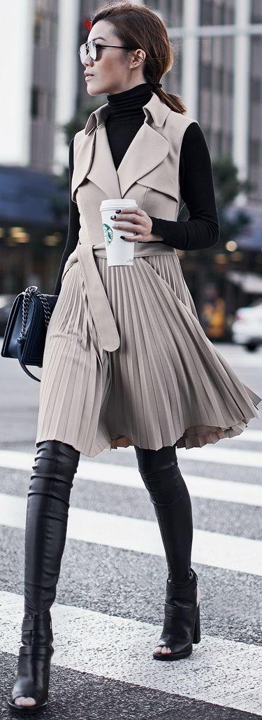 Trench Coat Dress