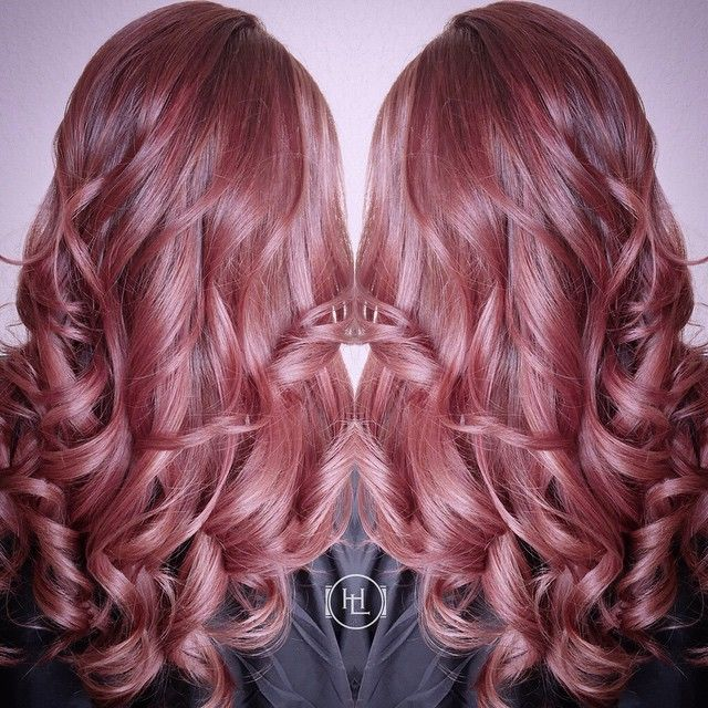 Phenomenal 1000 Ideas About Dark Pink Hair On Pinterest Scene Hair Brown Short Hairstyles For Black Women Fulllsitofus