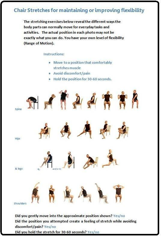309 Best Images About Chair Yoga On Pinterest Yoga Poses