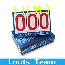 US $10.49 XJ-F3 Multi Sports/ Multi-Purpose 3 Digit Scoreboard Flip Score Board for Basketball Tennis. Aliexpress product