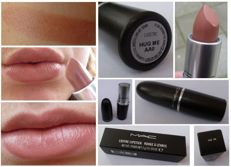 MAC Hug Me lipstick ! Perfect color!