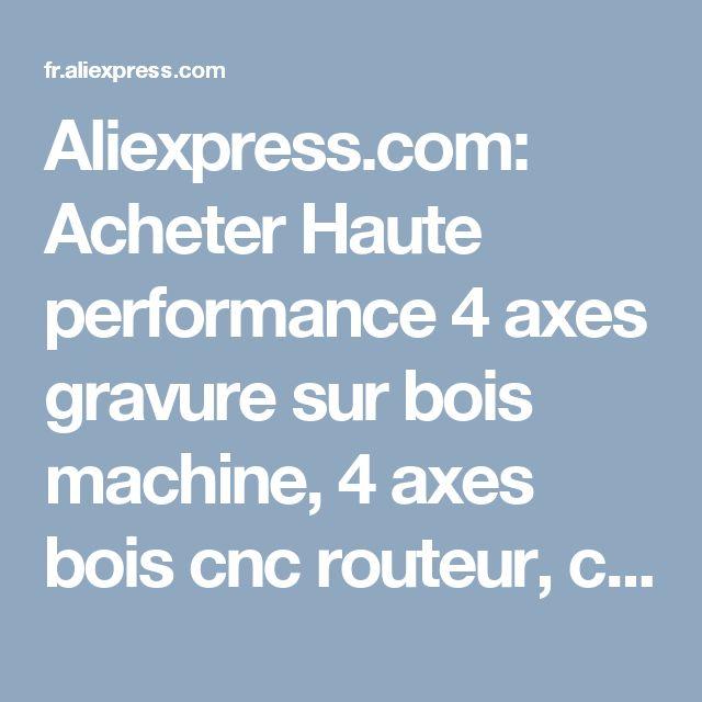 Aliexpress.com: Acheter Haute performance 4 axes gravure sur bois machine, 4 axes bois cnc routeur, cnc routeur rotatif 4ème axe de router gprs fiable fournisseurs sur Jinan RODEO CNC Machinery Co., Ltd.