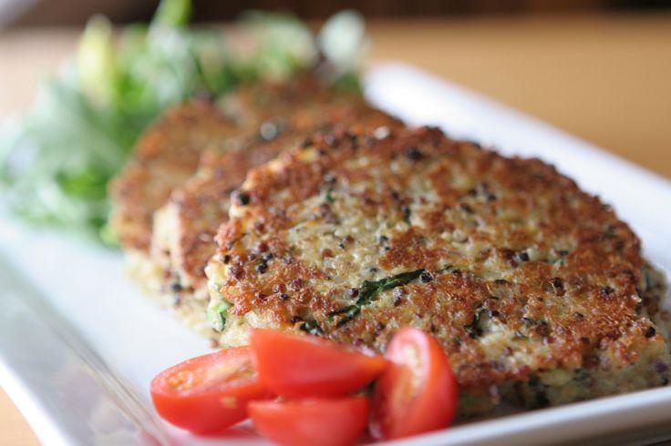 Eat to Beat: Quinoa Cakes