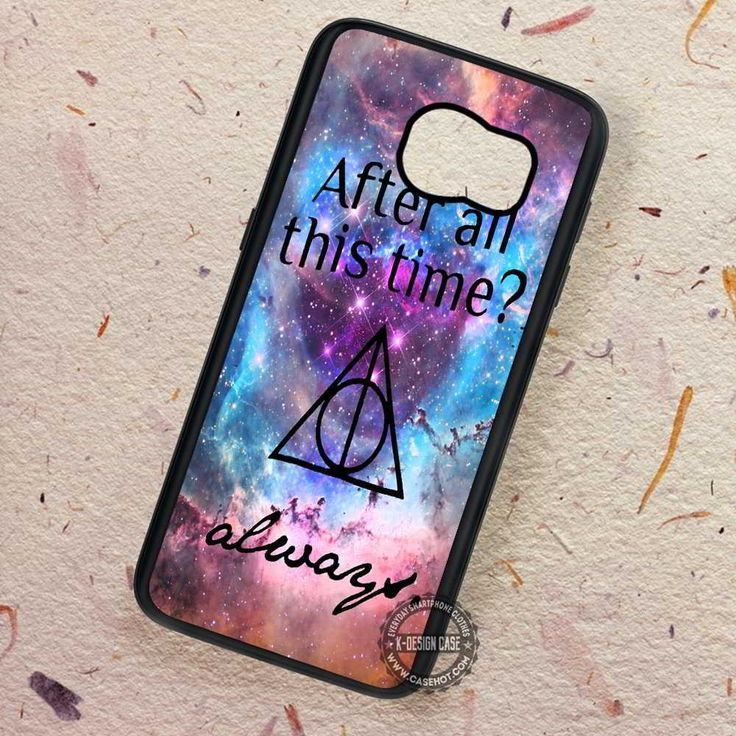 After All This Time Always Quote Harry Potter - Samsung Galaxy S7 S6 S5 Note 7 Cases & Covers