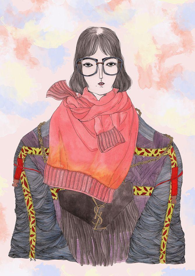 #Adrienne - Jeremy Combot Illustration