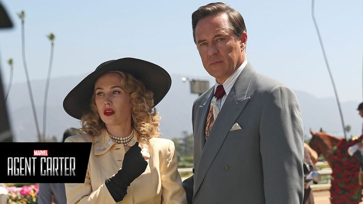 Agent Carter: Wynn Everett & Currie Graham