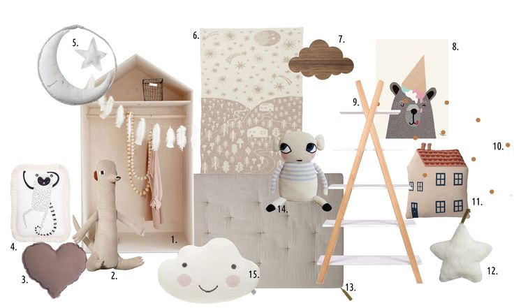 Design board by mukaki for ladnebebe.pl