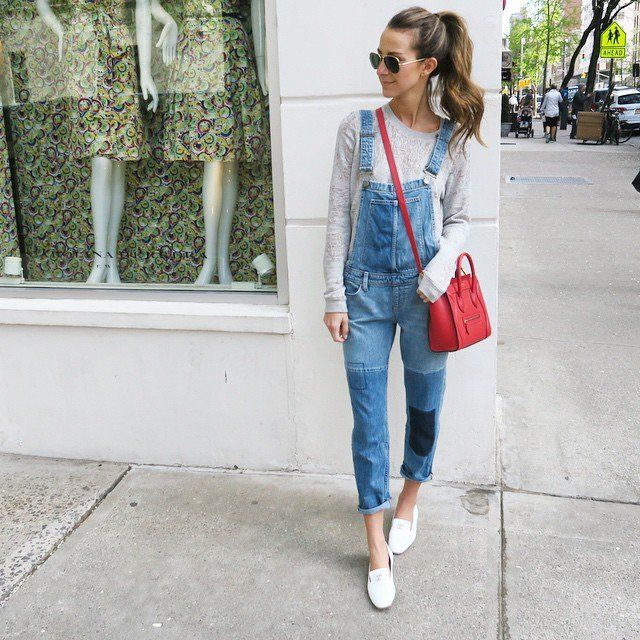 Pin for Later: 50 Denim Looks From 2015 That We'll Never Forget Arielle Charnas, SomethingNavy