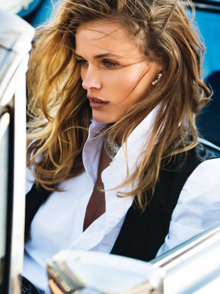 Edita Vilkeviciute by Gilles Bensimon (Ph.) || VOGUE Spain (June/July 2015)