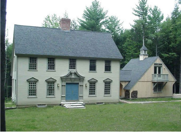 1000 images about saltbox colonial houses on pinterest for Colonial saltbox house plans