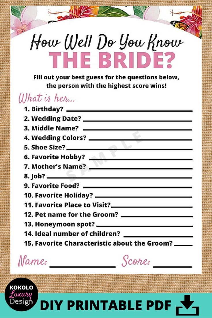 Uncategorized Love Quiz Games best 25 quiz wedding games ideas on pinterest couple trivia printable how well do you know the bride bridal shower game this is an awesome