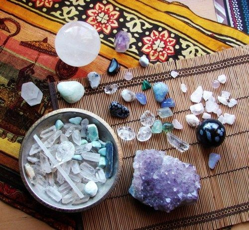 Learning to enjoy and work with the healing energies of crystals