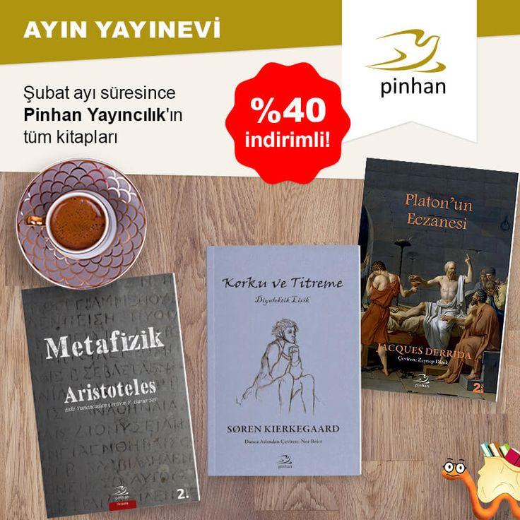 PİNHAN YAYINCILIK'ın Tüm Kitapları %40 İndirimli!  Kitapları İnceleyin: http://www.kitapyurdu.com/yayinevi/pinhan-yayincilik/4650.html  #kitap #kitapyurdu